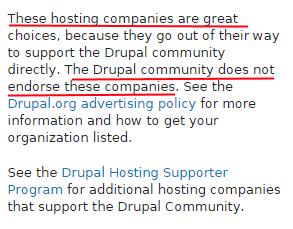 drupal_hosting_disclaimer
